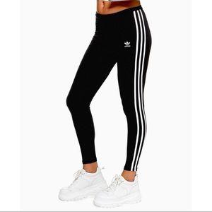 🆕 ADIDAS 3 Stripe Leggings S
